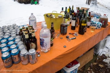 Drinks table (no need for ice!)