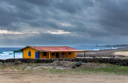 Orange Fisherman's Hut