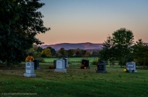 Graves In Early Morning - New York