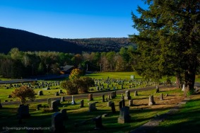 Cemetery In The Mountains - New York