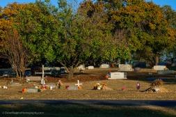 Cemetery Scene - Texas