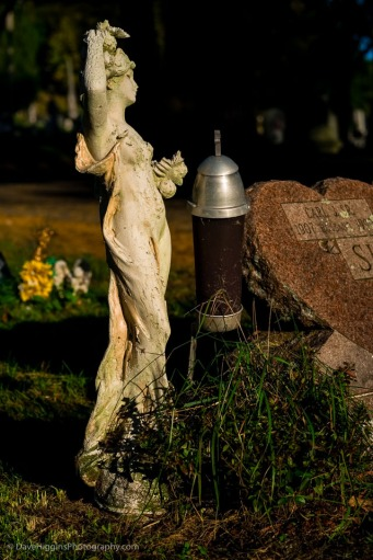 Graveside Figure - New York