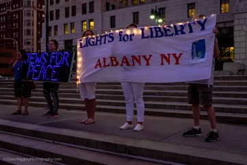 """Lights For Liberty"" Banner"