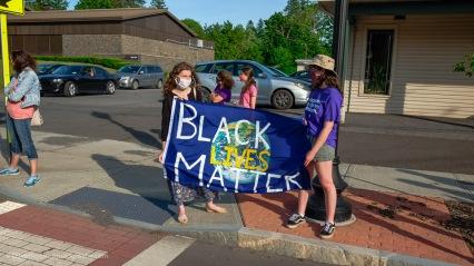 """Black Lives Matter"" on Earth"