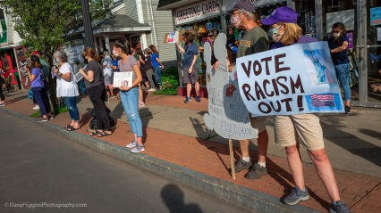 """Vote Racism Out"""